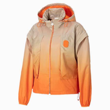 PUMA x PRONOUNCE Women's Jacket, Vibrant Orange, small-GBR