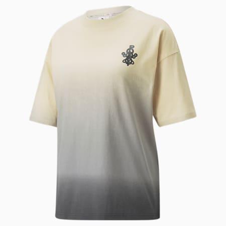T-shirt con grafica PUMA x PRONOUNCE donna, Pebble, small