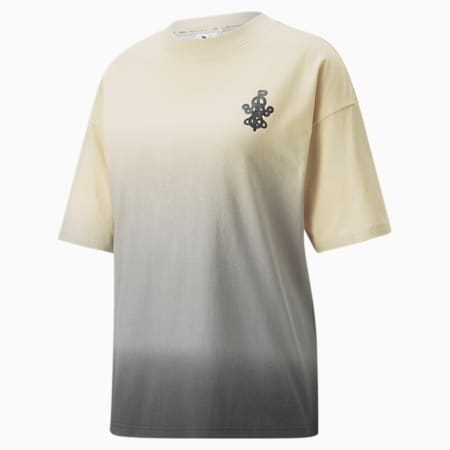 PUMA x PRONOUNCE Graphic Relaxed Fit Women's T-Shirt, Pebble, small-IND