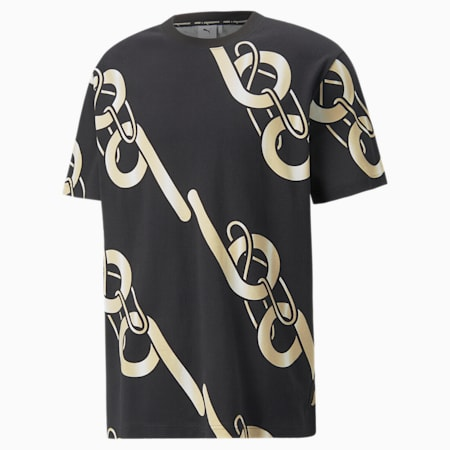 PUMA x PRONOUNCE Graphic Relaxed Fit Unisex T-Shirt, Puma Black, small-IND