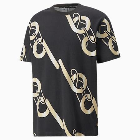T-shirt à graphique PUMA x PRONOUNCE, Puma Black, petit