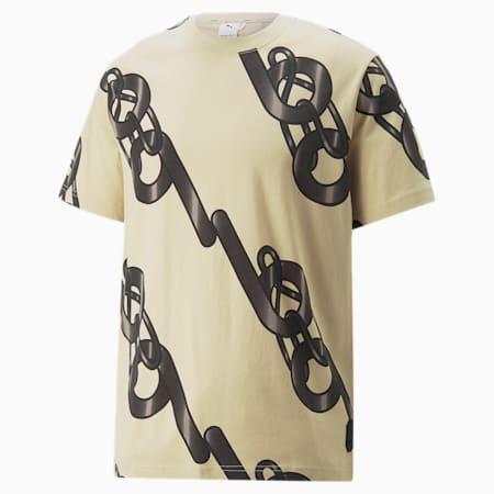 T-shirt con grafica PUMA x PRONOUNCE, Pebble, small