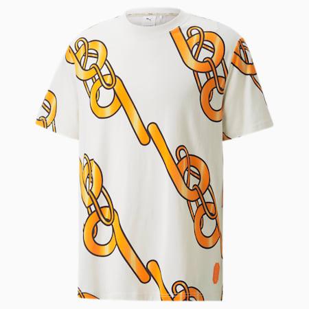 T-shirt con grafica PUMA x PRONOUNCE, Whisper White, small