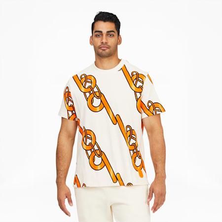 T-shirt à graphique PUMA x PRONOUNCE, Blanc murmure, petit