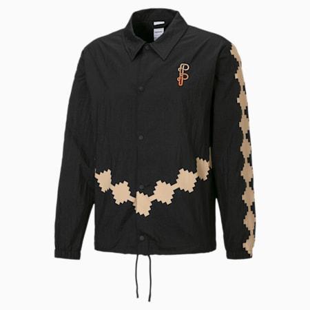 PUMA x PRONOUNCE Woven Men's Jacket, Puma Black, small-GBR