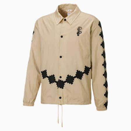 PUMA x PRONOUNCE Woven Men's Jacket, Pebble, small-GBR