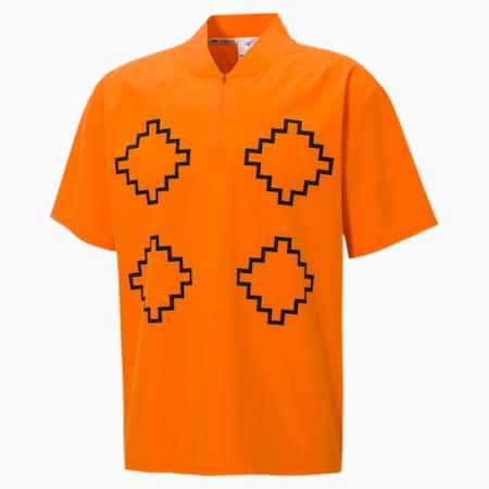 PUMA x PRONOUNCE Woven Shirt, Vibrant Orange, small