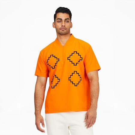 PUMA x PRONOUNCE Woven Shirt, Vibrant Orange, small-GBR