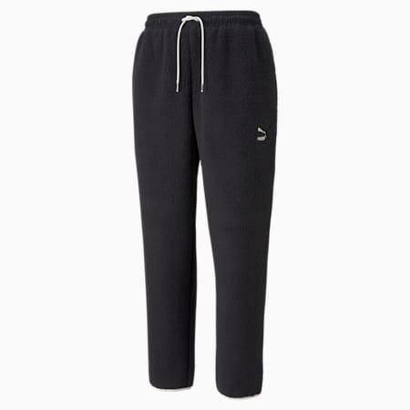 Pantalones CLSX Sherpa para hombre, Puma Black, pequeño