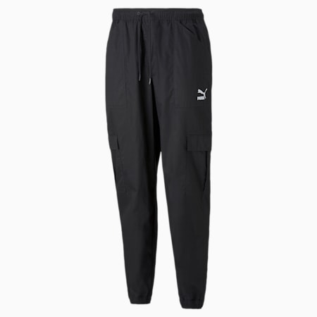 Pantalones cargo Classics para hombre, Puma Black, pequeño