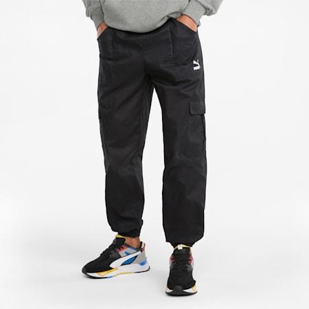 클래식 카고 팬츠/Classics Cargo Pants WV, Puma Black, small-KOR