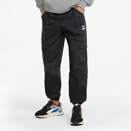 Pantalon cargo Classics, homme, Puma Black, petit