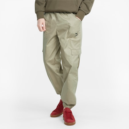Pantalon cargo Classics, homme, Vert aérosol, petit