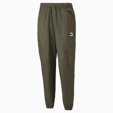 Pantalones cargo Classics para hombre, Grape Leaf, pequeño