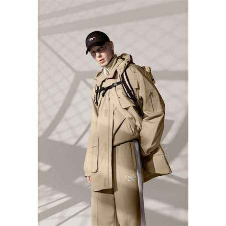 PUMA x MAISON KITSUNÉ Herren Military Jacke, Travertine, small