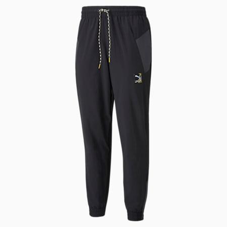 PUMA International Winterised Woven Men's Pants, Puma Black, small-GBR