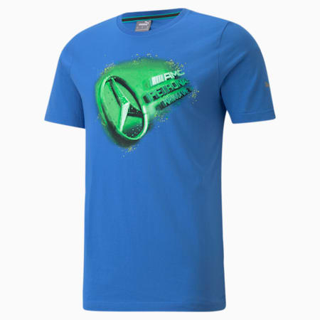 Camiseta Mercedes F1 Street Vintage para hombre, Bluemazing, pequeño