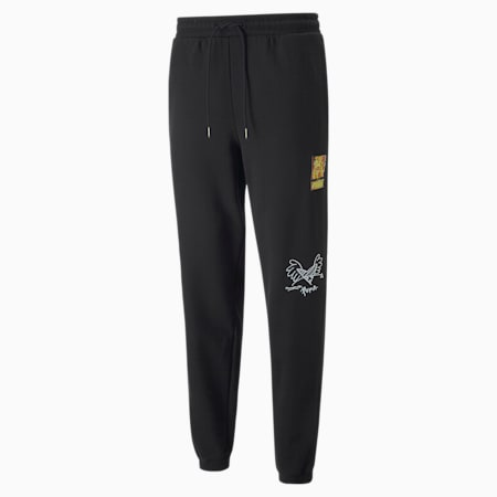 Pantalones de deporte PUMA x BRITTO, Puma Black, small