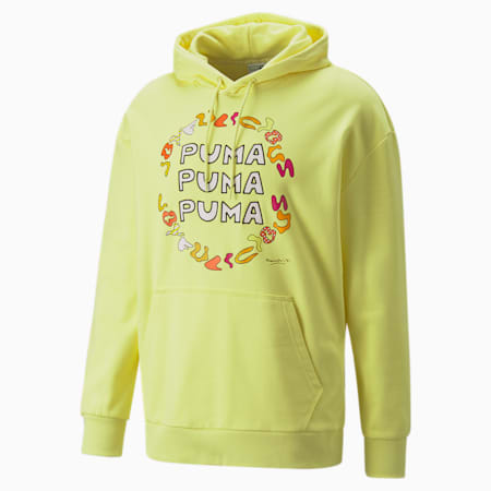 PUMA x BRITTO Hoodie, Limelight, small
