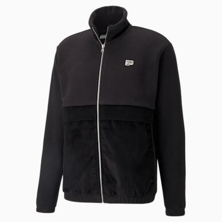 Downtown Corduroy Mix Men's Jacket, Puma Black, small-GBR