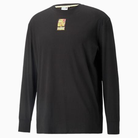 T-shirt a maniche lunghe PUMA x BRITTO, Puma Black, small