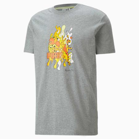 PUMA x BRITTO T-Shirt, Medium Gray Heather, small