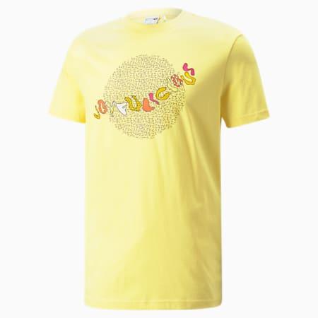 T-shirt PUMA x BRITTO, Jaune, petit