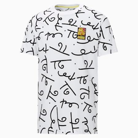T-shirt imprimé PUMA x BRITTO, Blanc Puma-AOP, petit