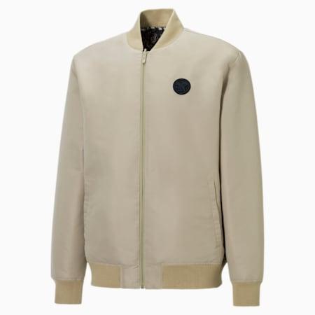 PUMA x SANTA CRUZ Varsity Jacket, Spray Green, small-GBR