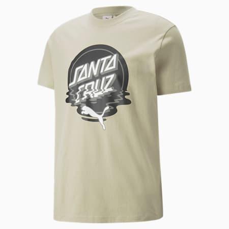 T-shirt PUMA x SANTA CRUZ, Vert aérosol, petit