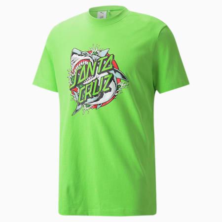 PUMA x SANTA CRUZ T-Shirt, Green Flash, small