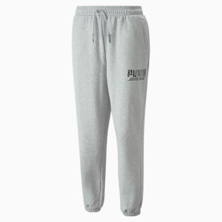 PUMA x SANTA CRUZ Sweatpants, Light Gray Heather, small-GBR