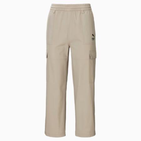 Pantaloni cargo PUMA x SANTA CRUZ donna, Spray Green, small