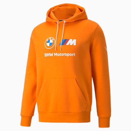 Sudadera con capucha de polar BMW M Motorsport Essentials para hombre, Vibrant Orange, pequeño