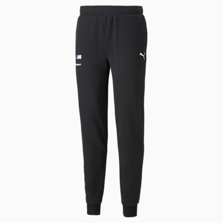 Pantalones deportivos BMW M Motorsport Essentials para hombre, Puma Black, pequeño