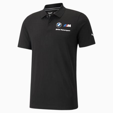 BMW M Motorsport Essentials Men's Polo Shirt, Puma Black, small-SEA