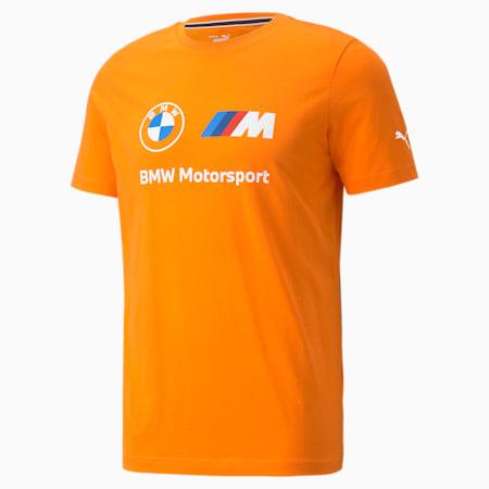 Camiseta con logo BMW M Motorsport Essentials para hombre, Vibrant Orange, pequeño