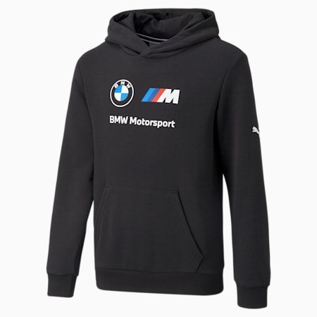 Kangourou essentiel à logo BMW M Motorsport, enfant, Puma Black, petit