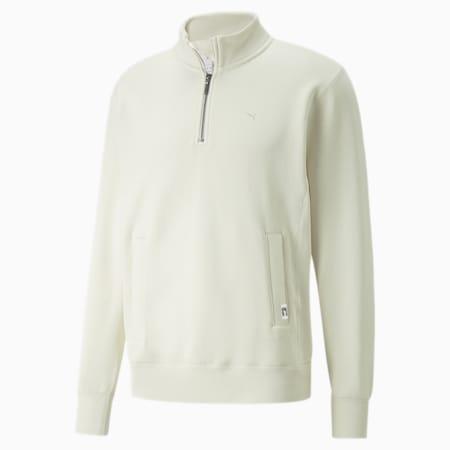 Bluza MMQ z niepełnym kołnierzem, Ivory Glow, small