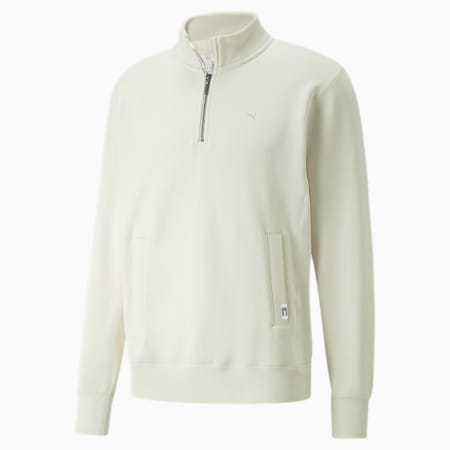 MMQ Mock Neck Sweater, Ivory Glow, small