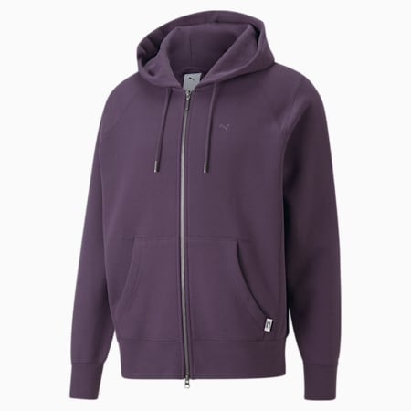 MMQ Full-Zip Hoodie, Sweet Grape, small
