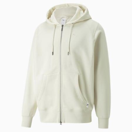 MMQ Full-Zip Hoodie, Ivory Glow, small-GBR