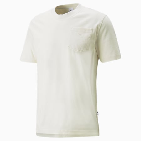 Koszulka MMQ Pocket, Ivory Glow, small