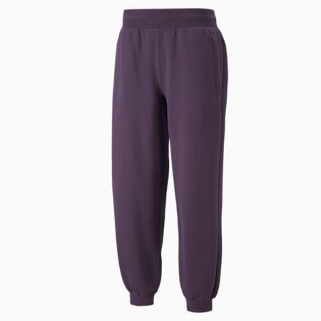 Spodnie dresowe MMQ, Sweet Grape, small