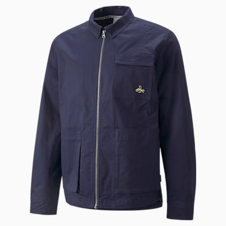 Dassler Legacy Jacket, Peacoat, small-GBR