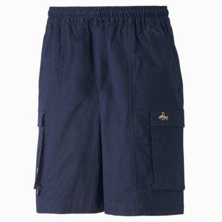 Dassler Legacy Shorts, Peacoat, small