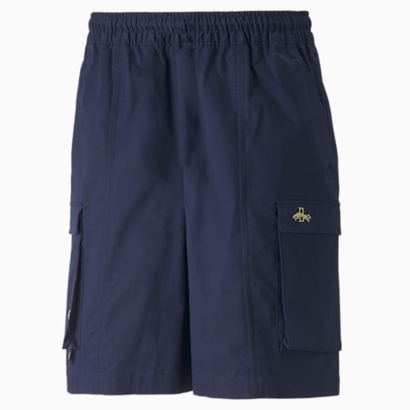 Dassler Legacy Shorts, Peacoat, small-GBR