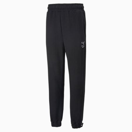 PUMA x MAISON KITSUNE Sweatpants, Puma Black, small-SEA