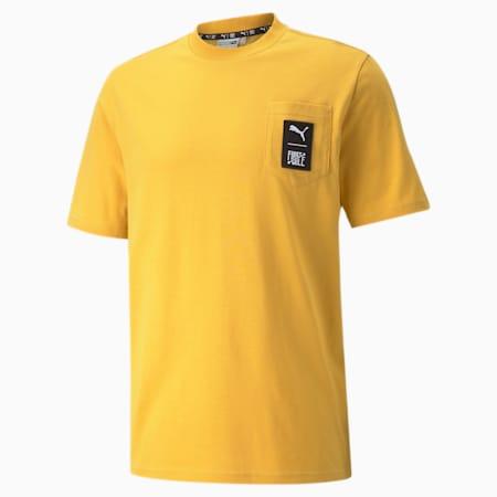Camiseta PUMA x FIRST MILE para hombre, Mineral Yellow, pequeño