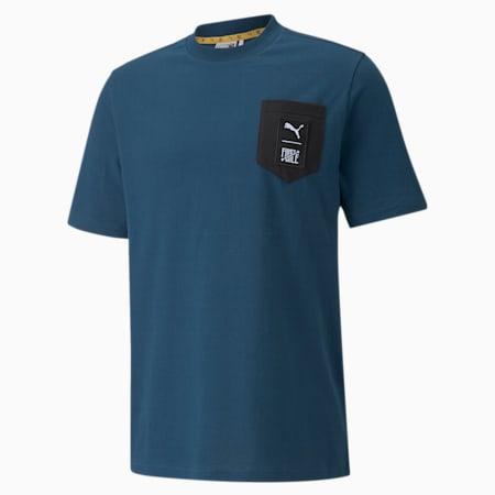 Camiseta PUMA x FIRST MILE para hombre, Intense Blue, pequeño